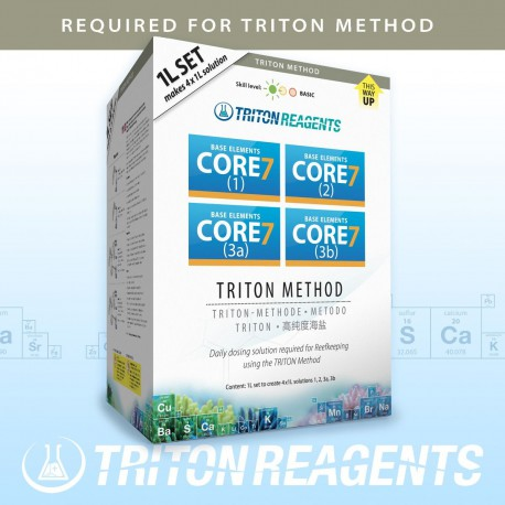 Base Elements CORE 7 4x1L Kit Concentrate Triton Lab