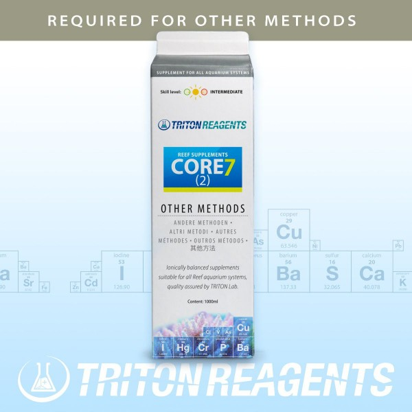 Reef Supplements CORE 7 (2) Triton Lab
