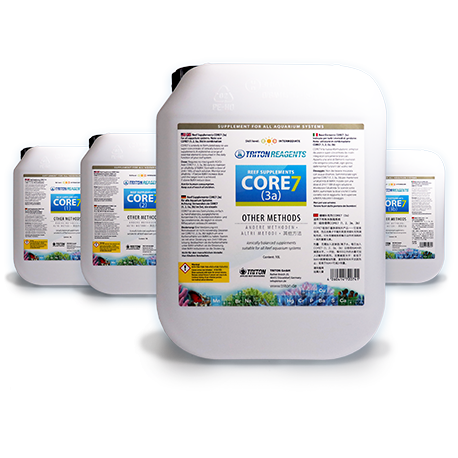 Reef Supplements CORE 7 4x5L Kit Concentrate Triton Lab