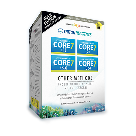 Reef Supplements CORE 7 4x4L Kit Concentrate Triton Lab