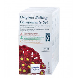 Original Balling Components Set ABC 3 x 1 kg Tropic Marin