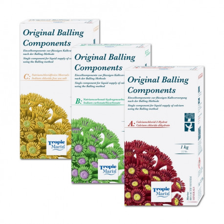 Original Balling Components Part B - 1 kg Tropic Marin
