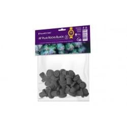 AQUAFOREST - AF Plug Rocks Black 24pcs