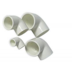 ROYAL EXCLUSIV - White PVC Elbow 90° 20mm