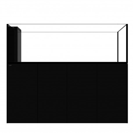 WATERBOX - Aquarium PENINSULA 6025 Noir